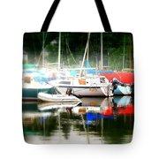 Harbor Masts Tote Bag