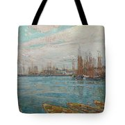 Harbor Of A Thousand Masts Tote Bag