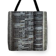 Harbor Point Condominium In Chicago Tote Bag