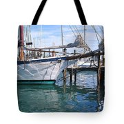 Harbor Scene Key West Tote Bag