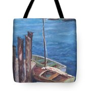 Harbor View So. Freeport Wharf Tote Bag