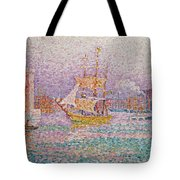 Harbour At Marseilles Tote Bag