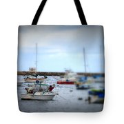 Harbour Boats Tote Bag