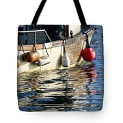 Harbour Reflections 3 - June 2015 Tote Bag