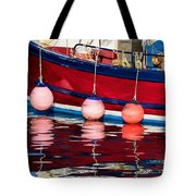 Harbour Reflections 5 - June 2015 Tote Bag