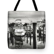 Harbour Scene Tote Bag