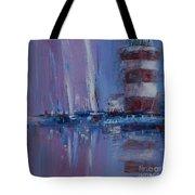 Harbour Town Sail Tote Bag