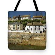 Harbourside Buildings - Porthleven Tote Bag