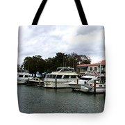 Harbourtown Marina Panorama Tote Bag
