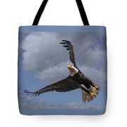 Hard Banking Eagle Tote Bag