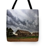 Hard Days - Abandoned Home On West Texas Plains Tote Bag