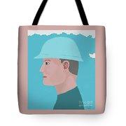 Hard Hat Oil Field Tote Bag