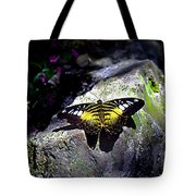Hard Landing--clipper Butterfly Tote Bag