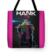 Hard Luck Hank--stank Delicious--back Tote Bag