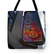 Hard Rock Cafe N Y C Tote Bag