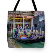Hard Rock Cafe Venice Gondolas_dsc1294_02282017 Tote Bag