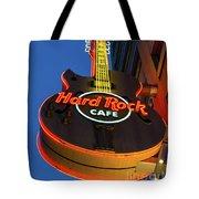 Hard Rock Guitar Detroit Tote Bag
