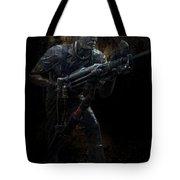 Hard Rock Mining Man Tote Bag