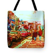 Hard Rock  On Crescent Tote Bag