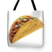 Hard Shell Taco Tote Bag