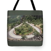 Hard Turn Tote Bag