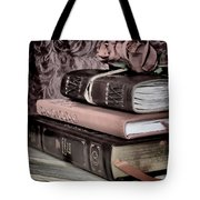 Hardcover Books Tote Bag