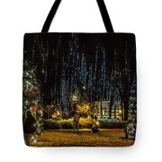 Harding Christmas Postcard Tote Bag