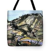 Hardknott Summit Road Tote Bag