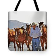 Hardworking Man Tote Bag