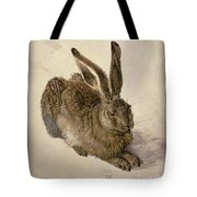 Hare Tote Bag by Albrecht Durer