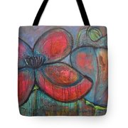 Hare Hare Poppies Tote Bag