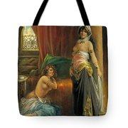 Harem Beauty Tote Bag