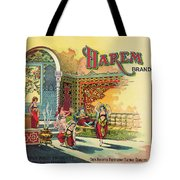 Harem Vintage Fruit Packing Crate Label C. 1920 Tote Bag