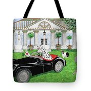 Hares And Hound Tote Bag