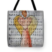 Hark. The Hearld Angels Sing Tote Bag