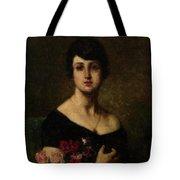 Harlamoff, Alexei 1840-1925 Female Portrait Tote Bag