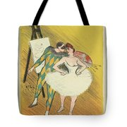 Harlequin And Columbine Tote Bag
