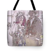 Harlequin Love Tote Bag
