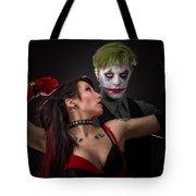Harley And The Joker Tote Bag