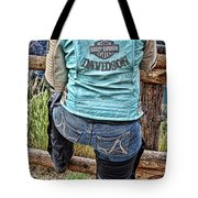 Harley Chick Tote Bag