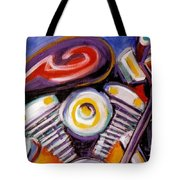 Harley Closeup Tote Bag