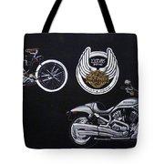 Harley Davidson 105th Anniversary Tote Bag