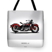 Harley Davidson Model U Tote Bag