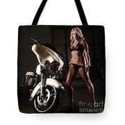 Harley Davidson Motorcycle Bikini  Tote Bag