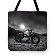 Harley Davidson Sportster Forty Eight 2013 Mountains Tote Bag