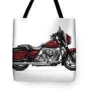 Harley-davidson Street Glide Motorcycle Tote Bag