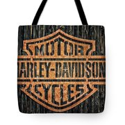 Harley - Davidson Tote Bag