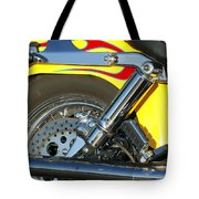 Harley-davidson Twin Cam 88 Rear Wheel Tote Bag