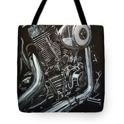 Harley Engine Tote Bag