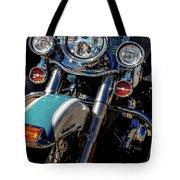 Harley Lights 1483 H_2 Tote Bag